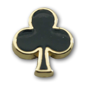 Gold & Black Shamrock