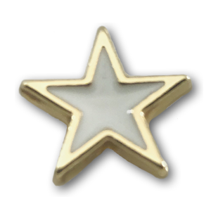Gold & White Star