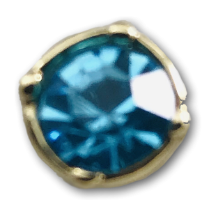 Blue Jewel Charm