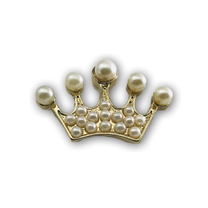 Gold Crown Charm