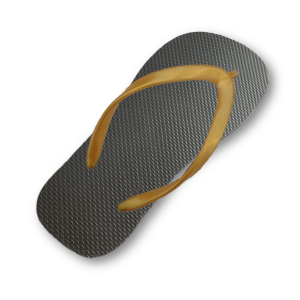 black-flip-flop-thin-gold-strap