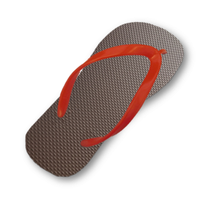 dark-brown-flip-flop-thin-bright-red-strap