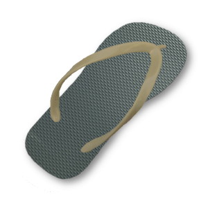 green-gray-flip-flop-thin-beige-strap
