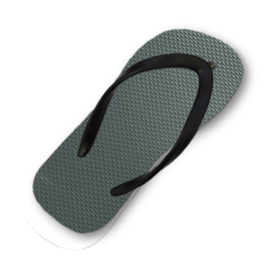 green-gray-flip-flop-thin-black-strap