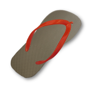olive-green-flip-flop-thin-bright-red-strap