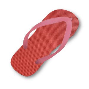 red-flip-flop-thin-shocking-pink-strap